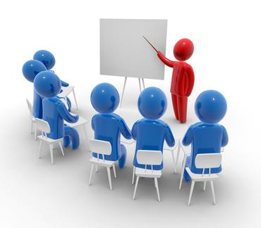 Visuel d'un groupe de formation