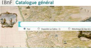 Visuel sur BnF catalogue général