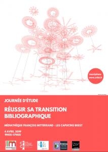 Réussir sa transition bibliographique : journée d'étude à Brest le 4 avril 2019