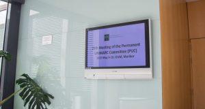 Salle de la réunion du 29e Permanent UNIMARC Committee, les 9 et 10 mai 2019 à Maribor (Slovénie)