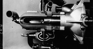Photographie d'un moteur à deux temps