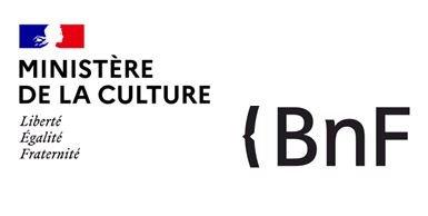 Logos ministère culture et BnF