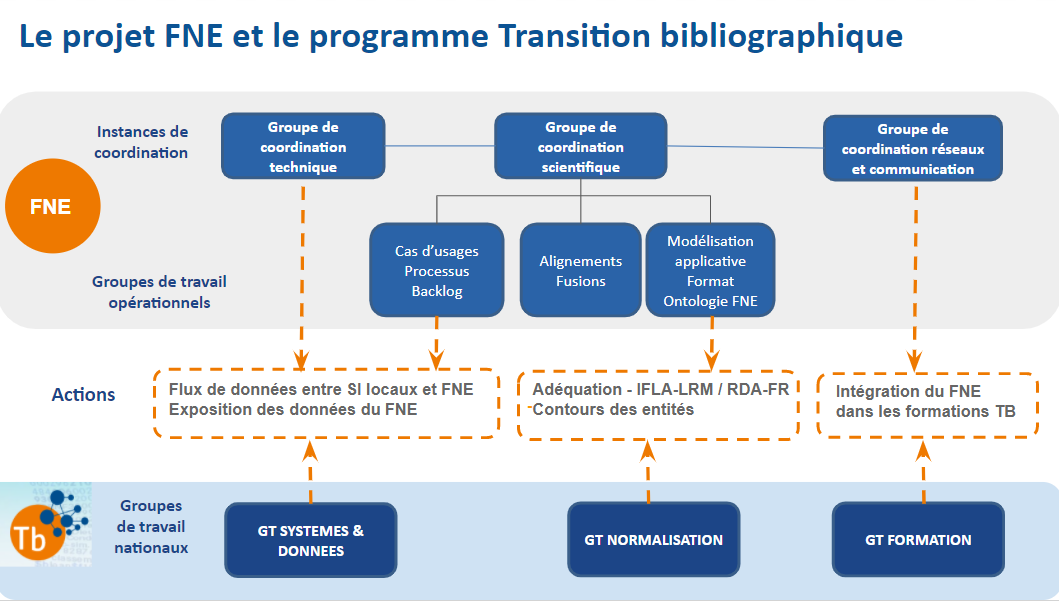 Le projet FNE et le programme Transition bibliographique - mars 2021